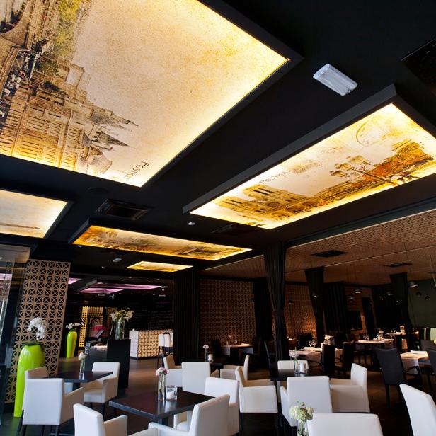 Restoran Les Ponts - Ugostiteljski objekti - Tom Lam
